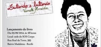 05/09/14 – lançamento de livro – Lutando e lutando, de Vanete Almeida