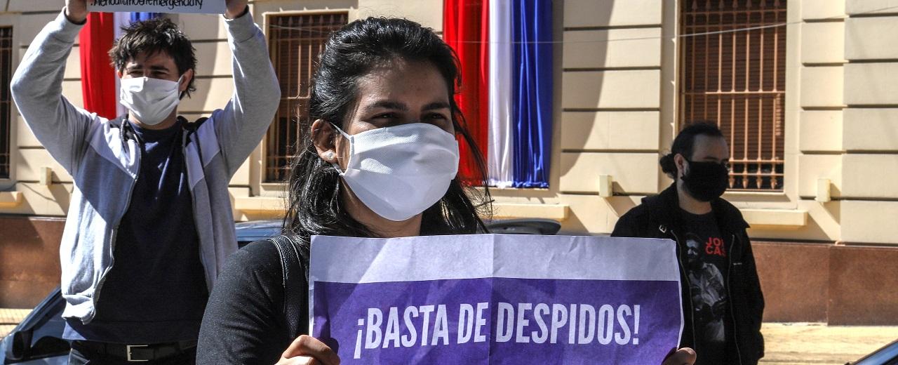 Paraguai: Mulheres são as que mais perderam trabalho assalariado durante a pandemia