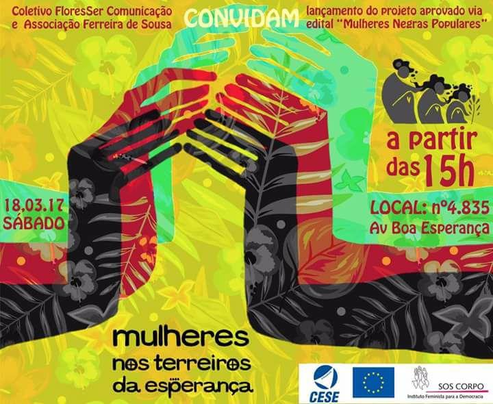 Projeto 'Mulheres nos Terreiros da Esperança' tem início neste sábado (18) na zona norte de Teresina (PI)