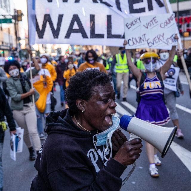EUA: A ELEIÇÃO PODE SER DECIDIDA NAS RUAS