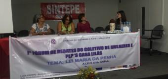 05/09/14 – fórum – I Fórum de Debates do Coletivo de Mulheres e PLP's Casa Lilás