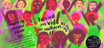 Festival pela Vida das Mulheres no Recife pede Legalização do Aborto