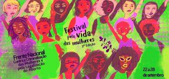 3ª edição do Festival Pela Vida das Mulheres