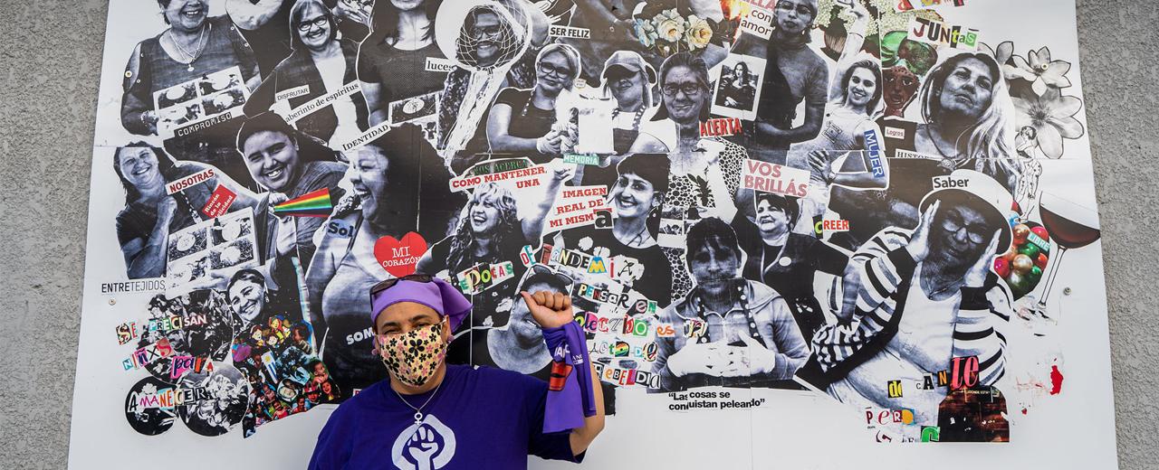 8M2021 Uruguai: Luta feminista em todos os bairros