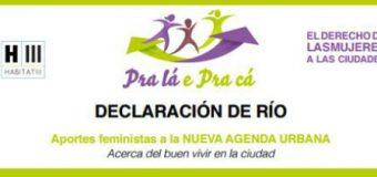 AFM apresenta a Declaração do Rio