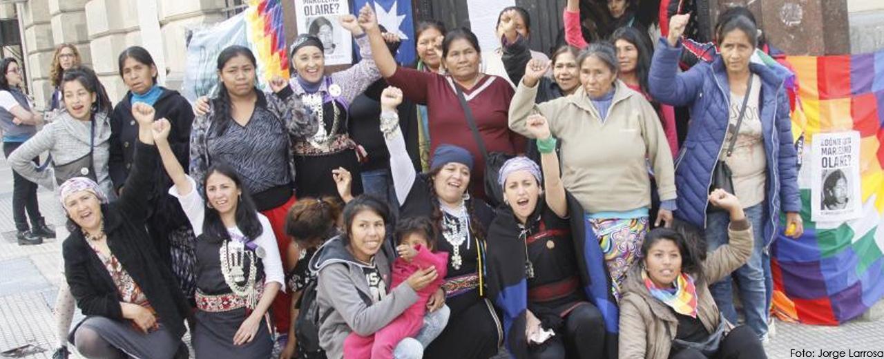 Rebelión de las Flores Nativas en Argentina