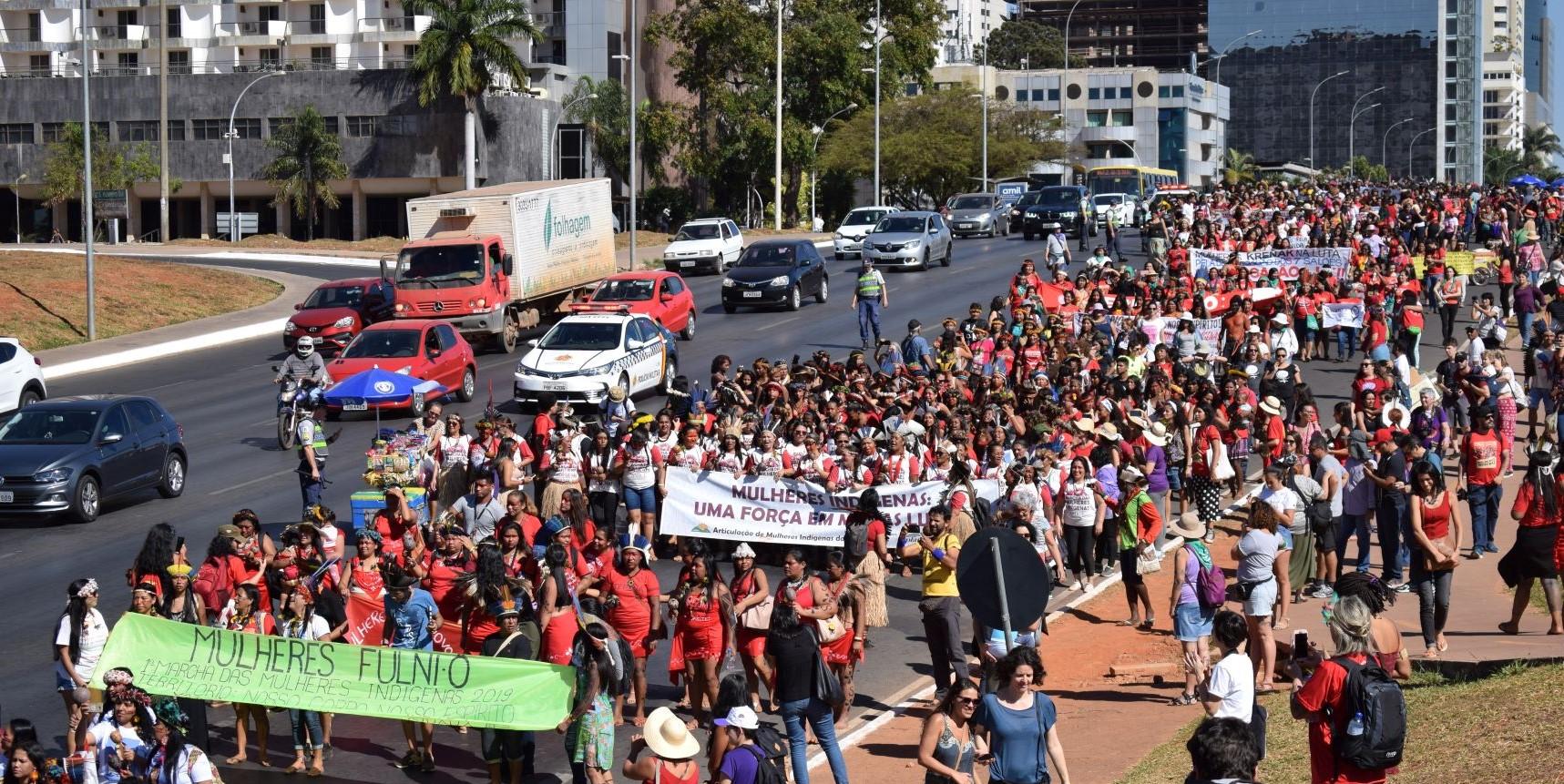 Brasília vive semana histórica de luta e resistência das mulheres