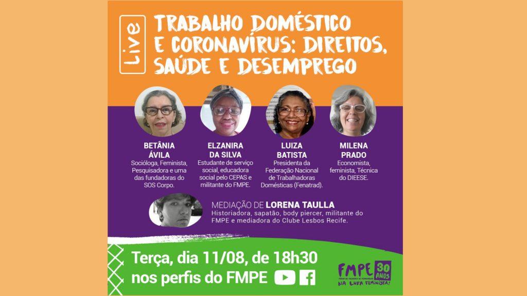 Trabalho doméstico e coronavírus: direitos, saúde e desemprego