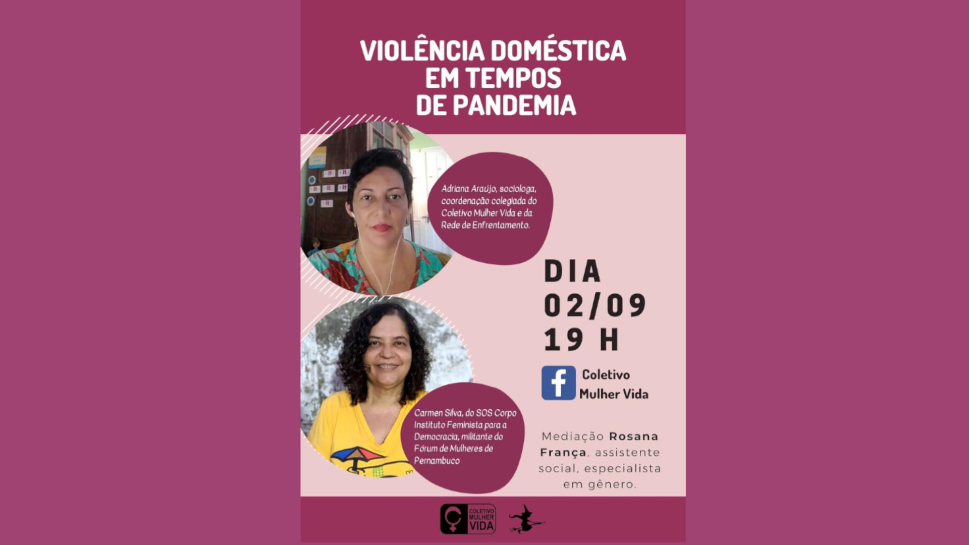 Violência doméstica em tempos de pandemia