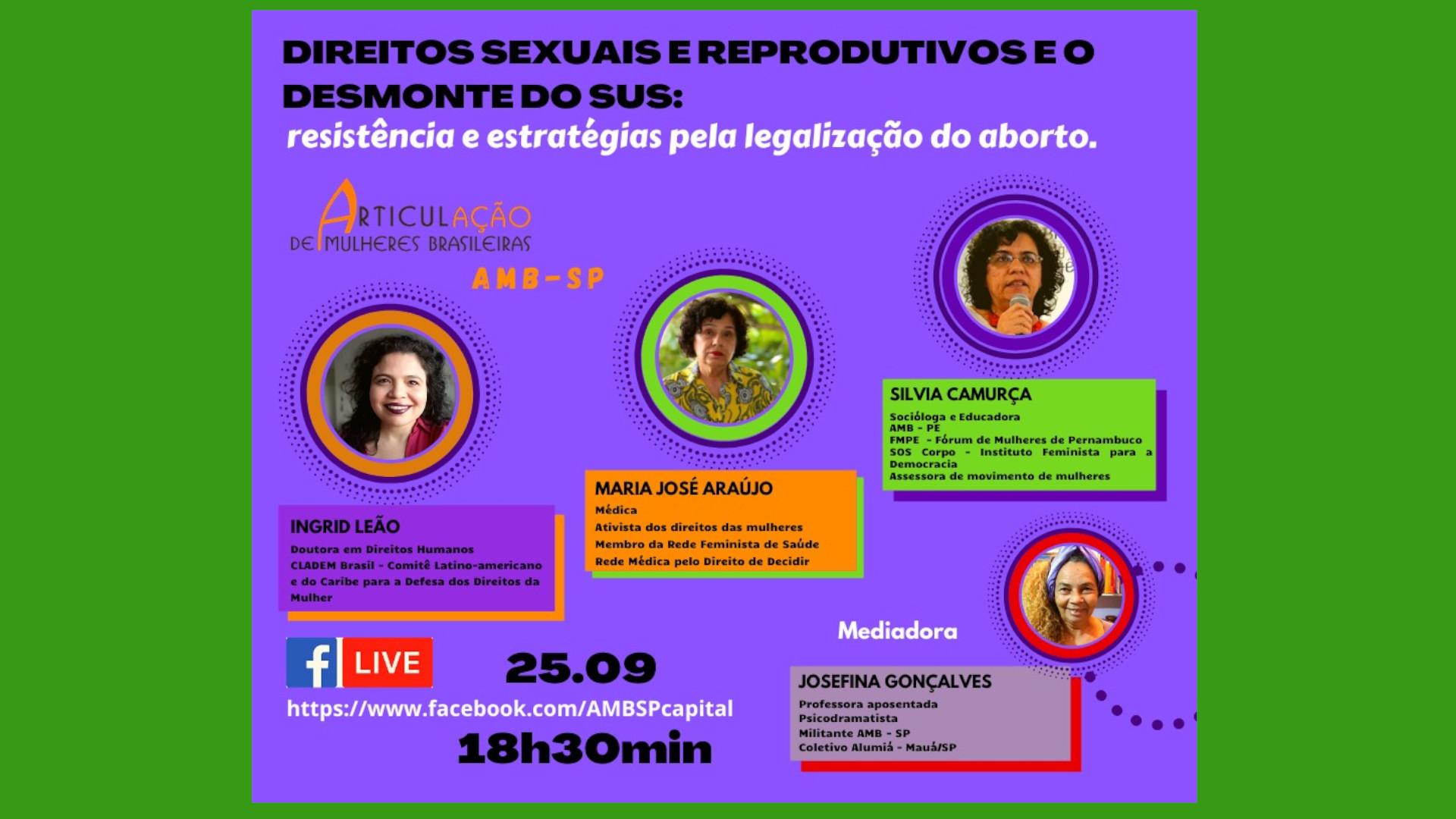Direitos Sexuais e Reprodutivos e o desmonte do SUS