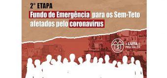 FUNDO DE EMERGÊNCIA PARA SEM-TETOS AFETADOS PELO CORONAVÍRUS