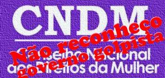 """Renúncia de conselheiras no CNDM: """"Estaremos nas ruas, contra a direita, pelos direitos. Fora Temer"""""""