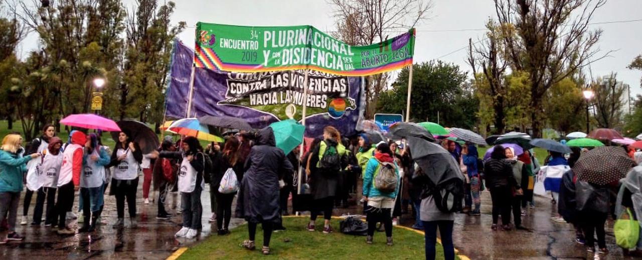 Rumo à Estação La Plata: A revolução ou será feminista ou não será!