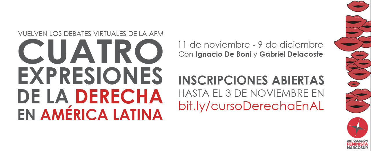 AFM abre inscrições para curso virtual sobre as quatro expressões da direita na América Latina