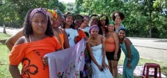 Turbantaço em Jaboatão dos Guararapes (PE): para enfrentar a intolerância religiosa, o racismo e o machismo.