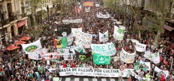 O mundo em marcha pela legalização das drogas