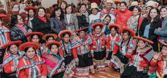 Mujeres rurales de Perú exigen el reconocimiento de sus derechos