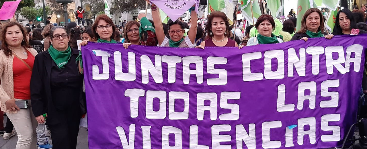 25N en Perú: Marchamos juntas contra todas las violencias