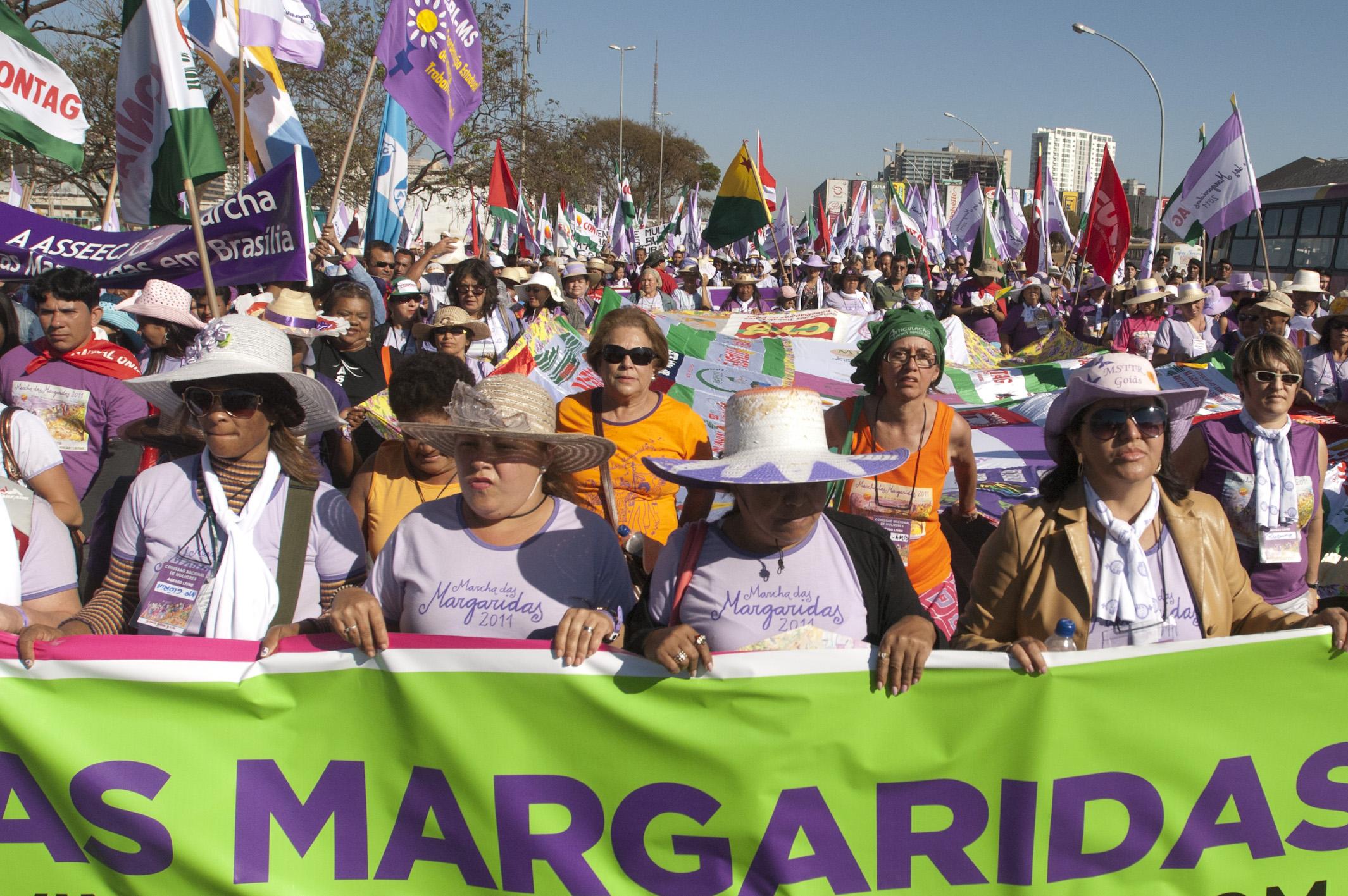 Marcha das Margaridas 2015 – Brasília, DF, 11 e 12 de agosto