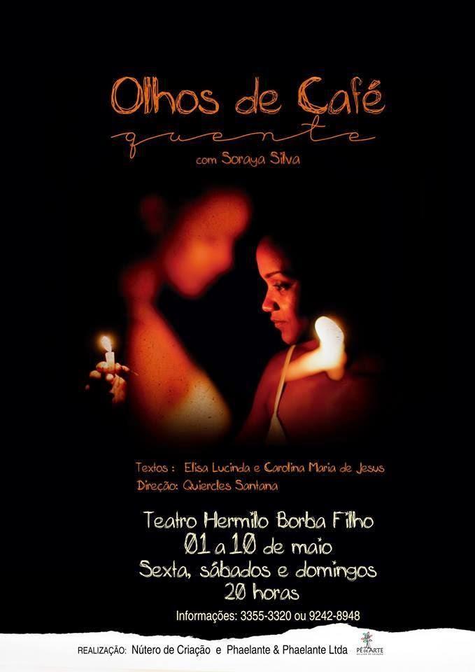 Espetáculo teatral retrata as memórias de Carolina de Jesus [de 01 a 10/05/15]