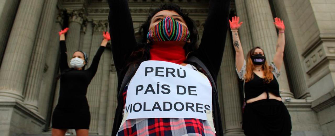 Perú, país de violadores