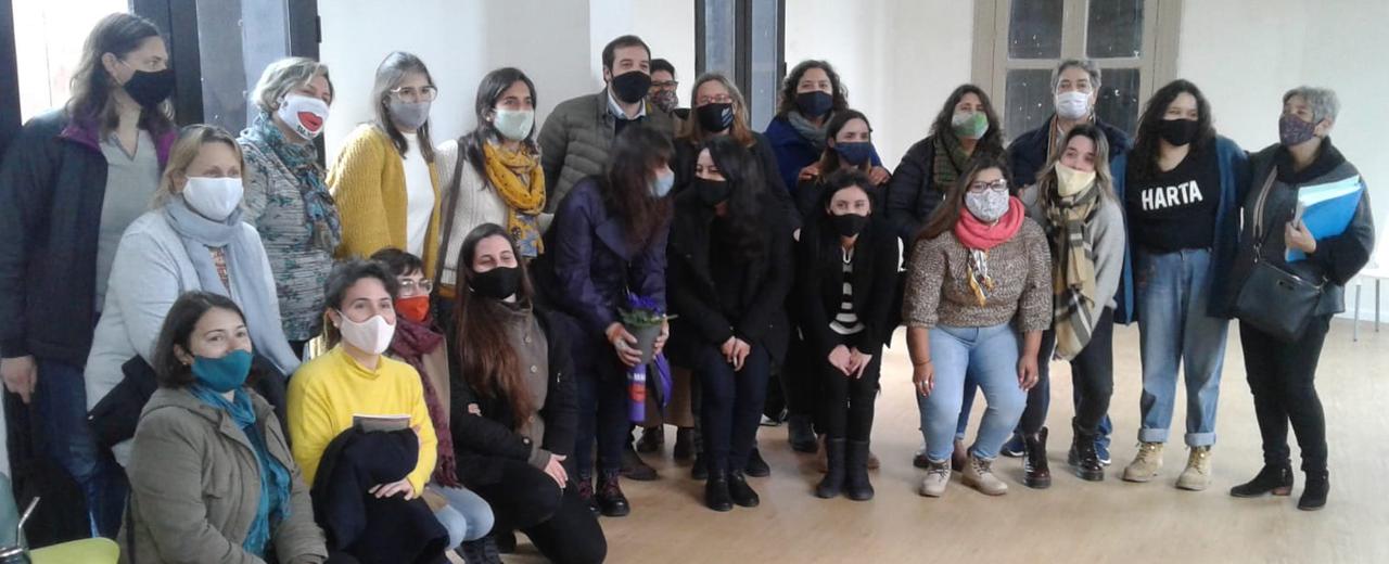 Montevideo inauguró las casas del Espacio Feminista Las Pioneras