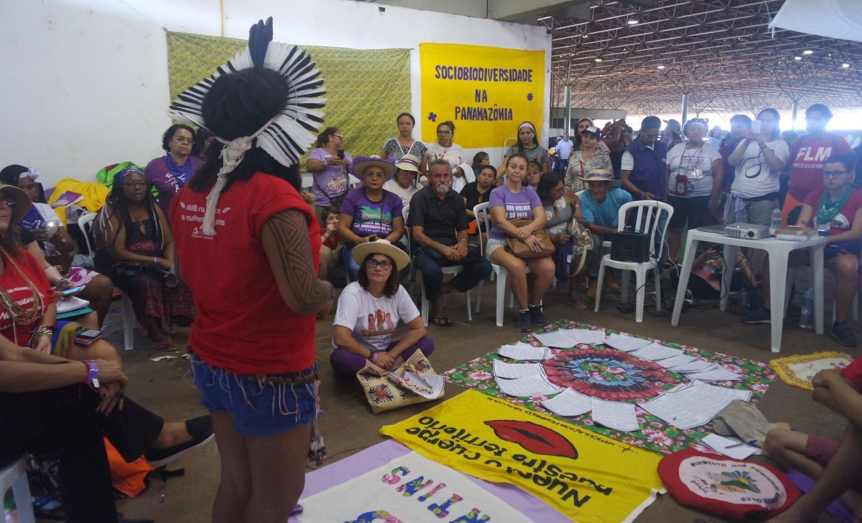 Sociobiodiversidade na Panamazônia nas discussões das Margaridas