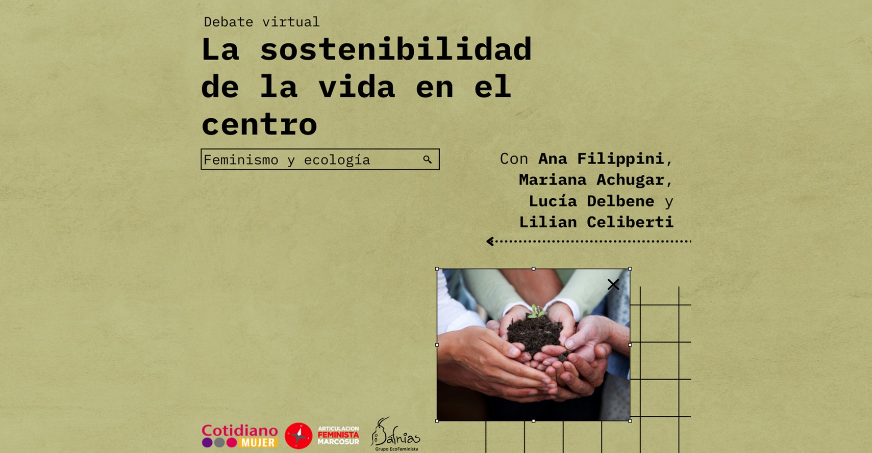 A sustentabilidade da vida no centro. Feminismo e ecologia