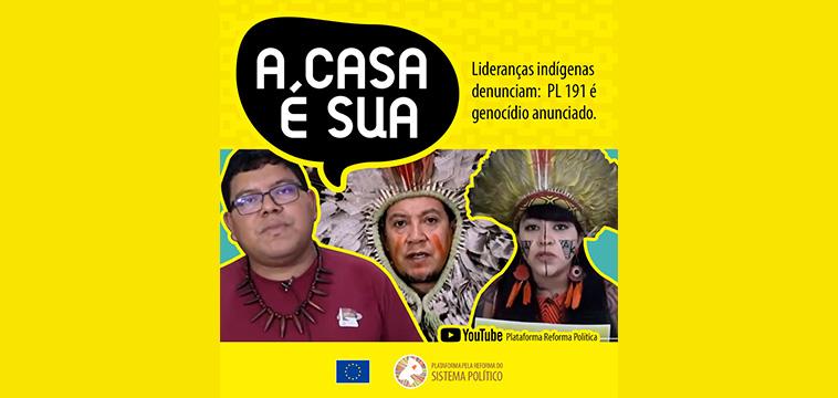 Contra a mineração em território indígena!