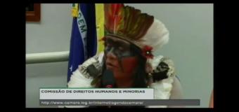 """""""Terra, vida, justiça e demarcação!"""" é o grito dos Guarani Kaiowá"""