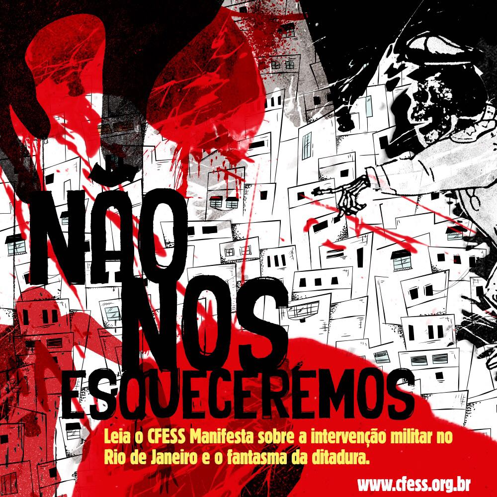 Manifesto do Conselho Federal de Serviço Social relembra data em que se iniciou a ditadura