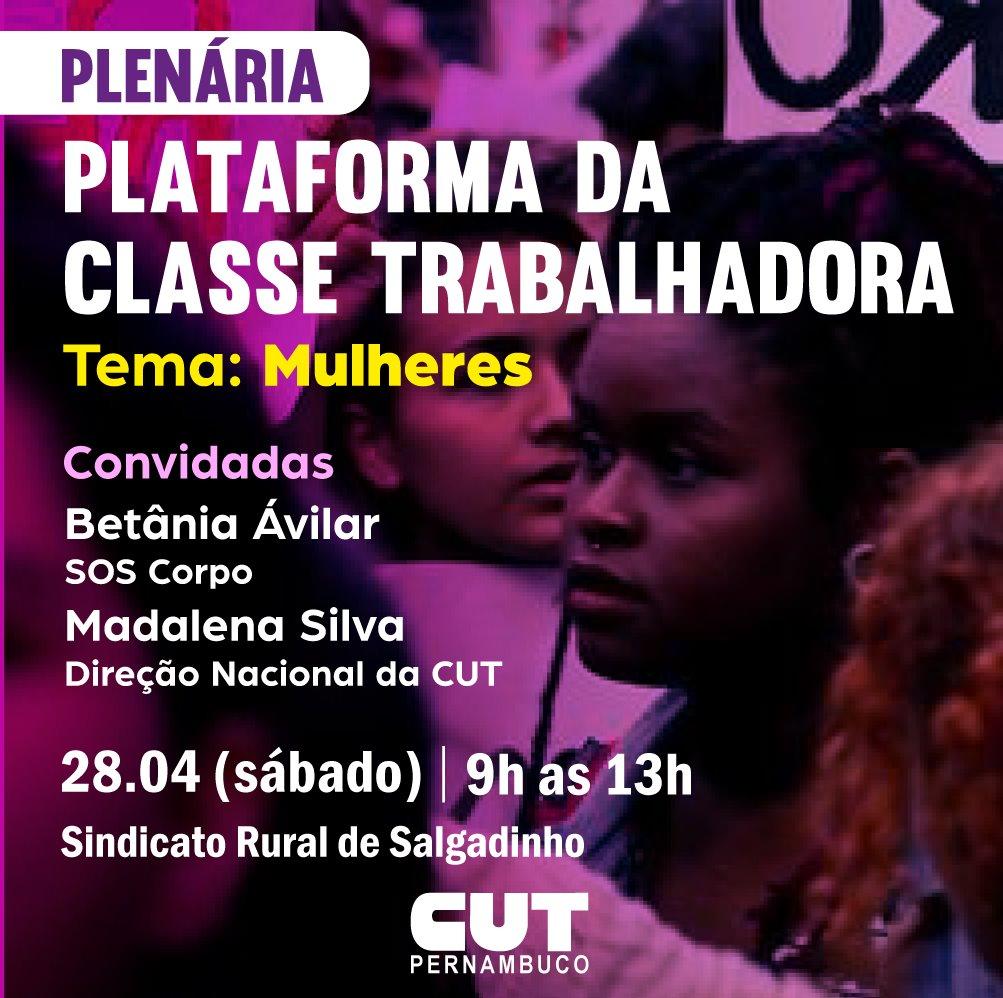 SOS Corpo participa de Plenária de Mulheres da CUT