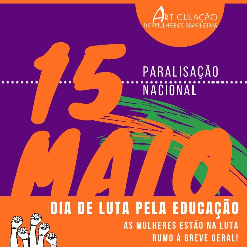 15 de maio: Dia de Luta pela Educação