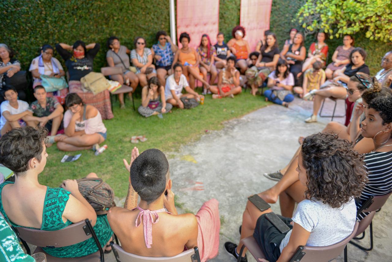 Dia de artivismo e resistência marca ação coletiva no Centro Cultural Feminista do SOS Corpo