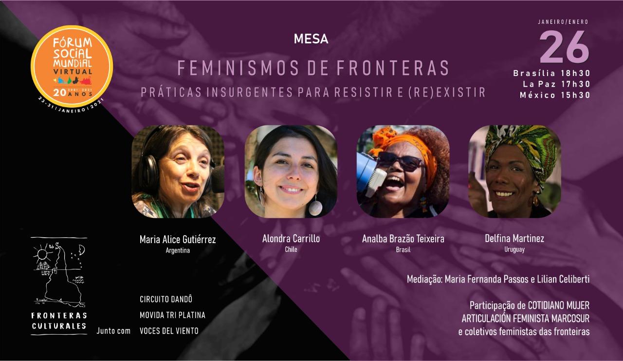 Feminismosde Fronteira: práticas insurgentes para resistir e (re) existir