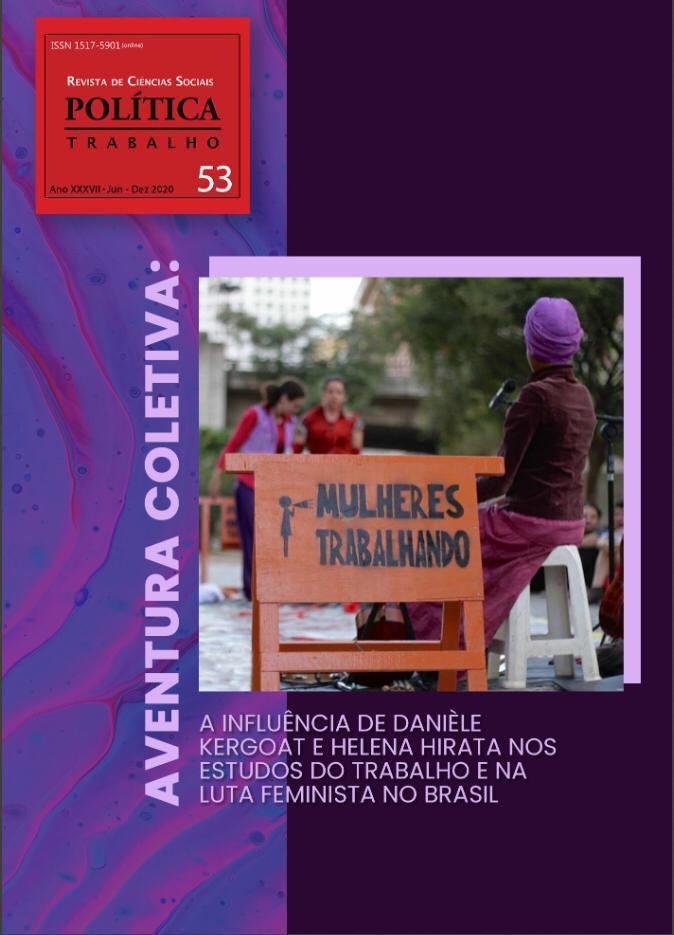 Pesquisadoras do SOS Corpo participam de dossiê sobre a influência de Danièle Kergoat e Helena Hirata na luta feminista no Brasil