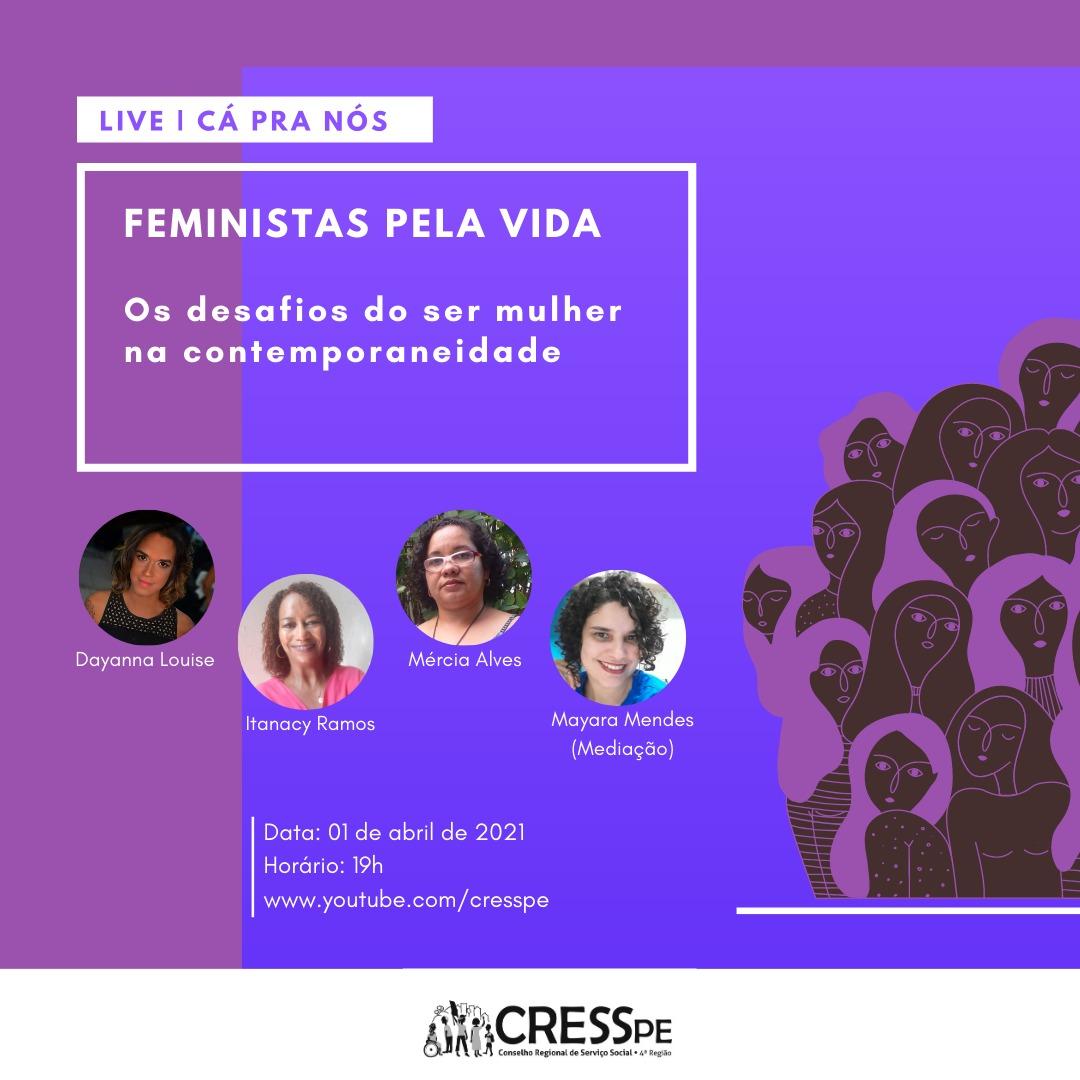 CRESS-PE debate os desafios de ser mulher na contemporaneidade