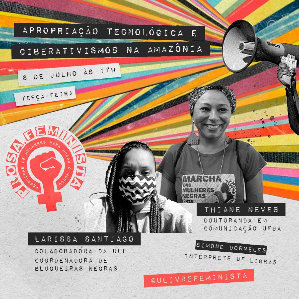 Prosa Feminista: pesquisas de mulheres para mudar o mundo