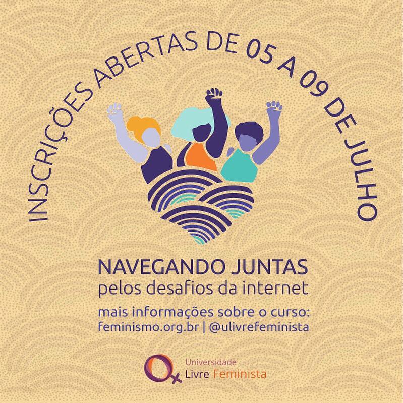 """ULF abre inscrições para o curso """"Navegando juntas pelos desafios da internet"""""""