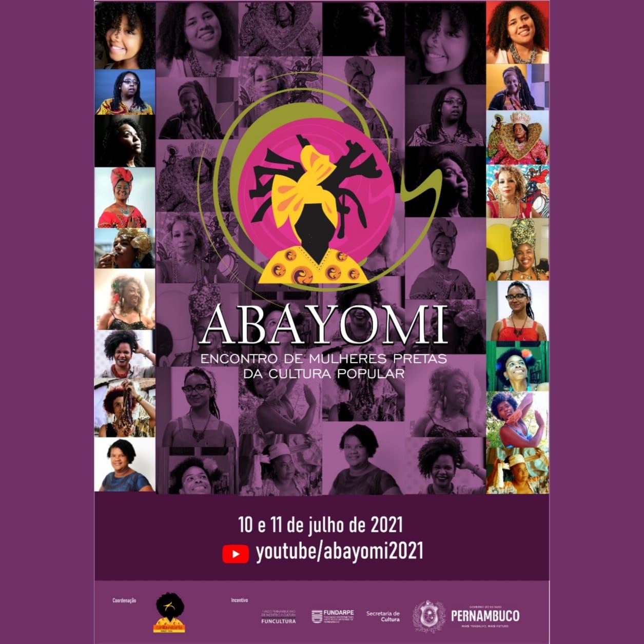 Abayomi realiza encontro virtual com mulheres pretas da cultura popular e lideranças feministas do Brasil
