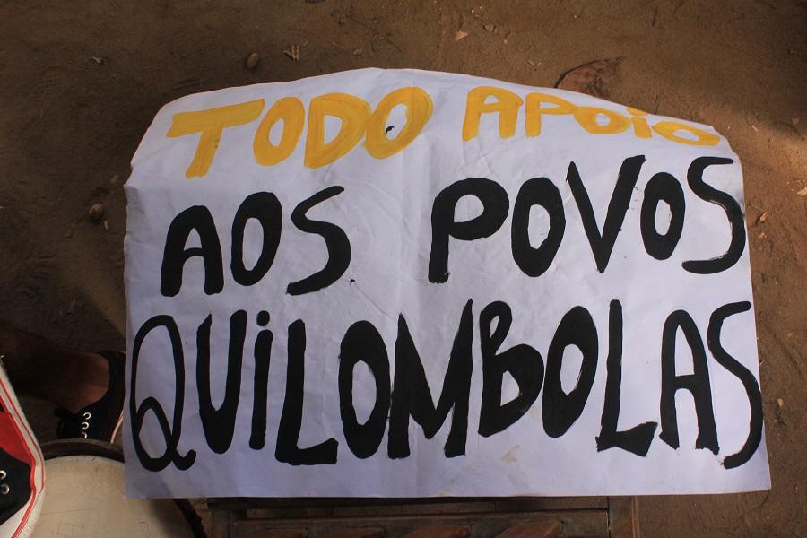 Pernambuco – Comunidades Quilombolas mobilizadas em defesa do Decreto 4887/03
