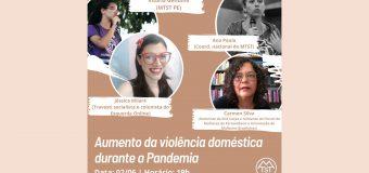 MTST/PE faz painel que discute o aumento da violência doméstica durante a pandemia