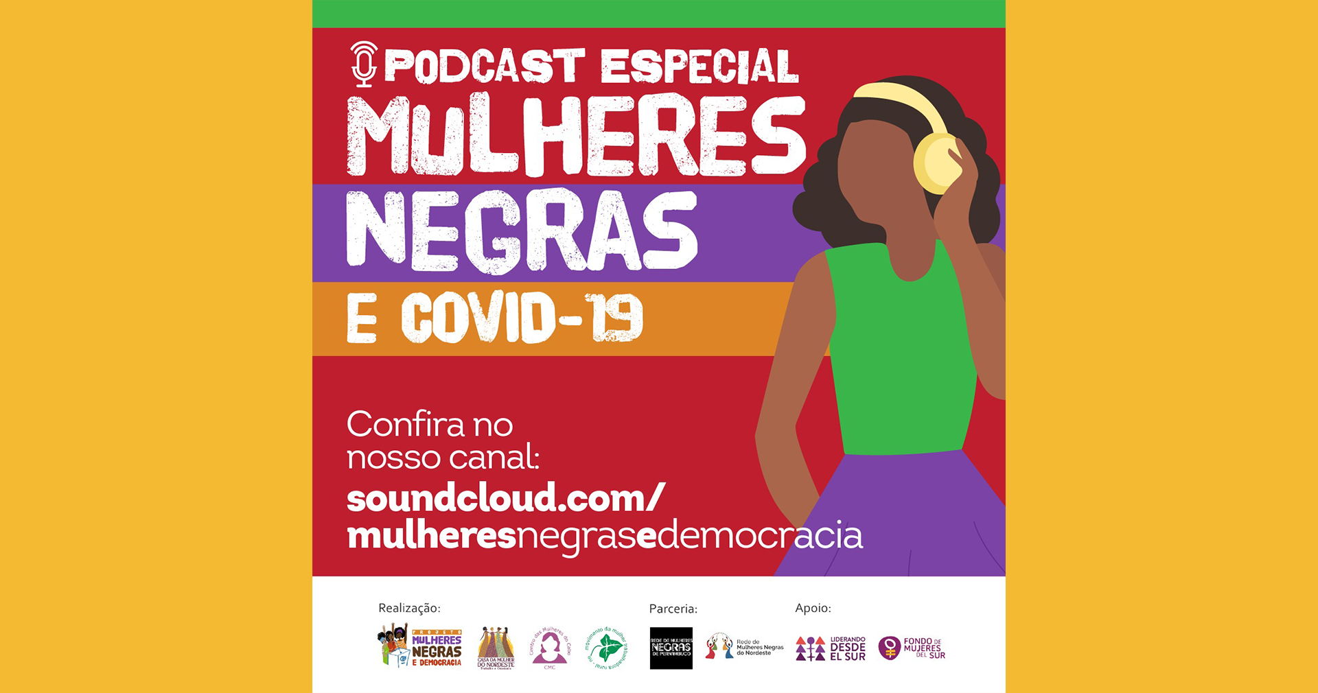 [PODCAST] Especial Mulheres Negras e Covid-19