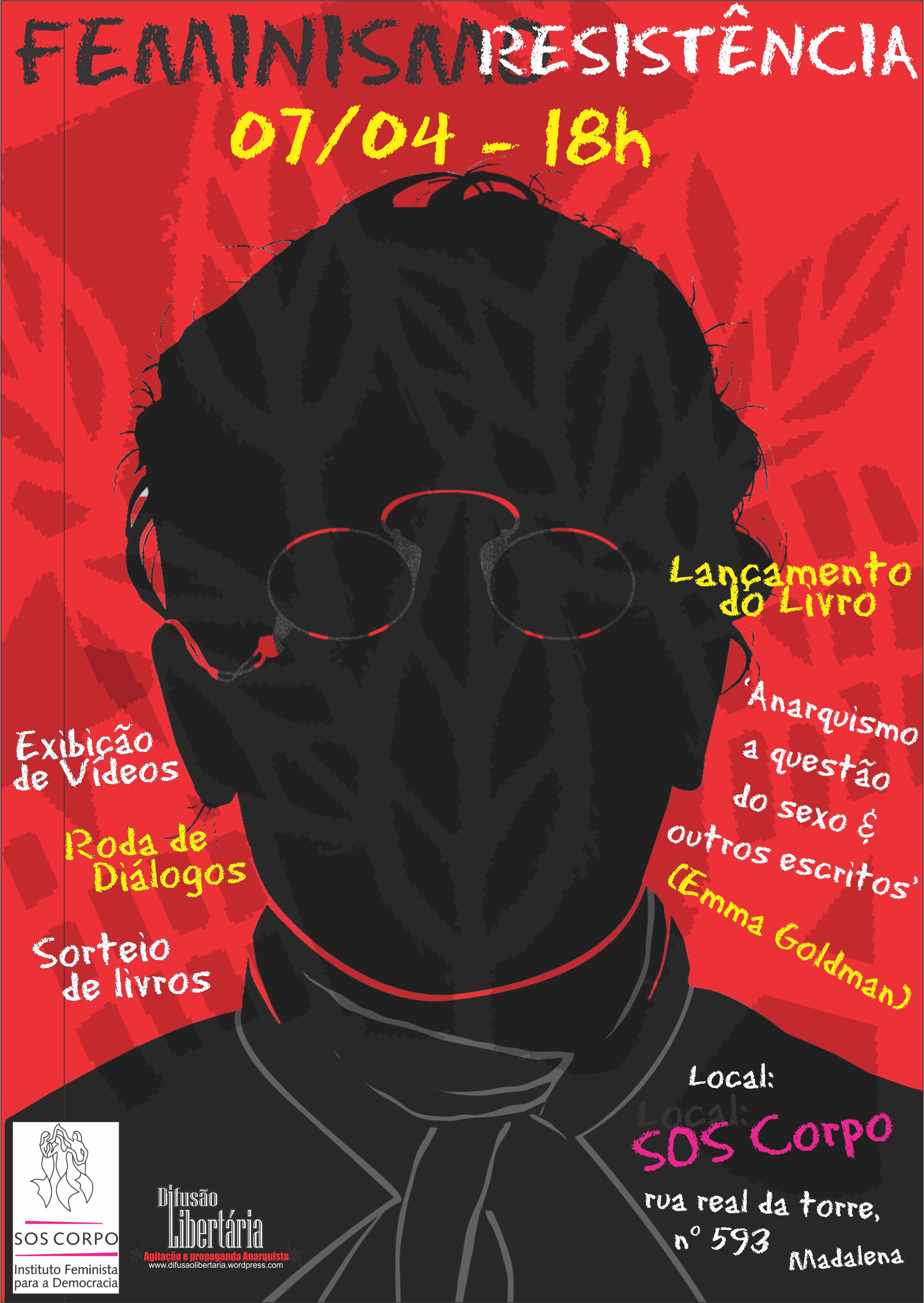 07/04/14 – lançamento de livro + roda de diálogo sobre feminismo e resistência