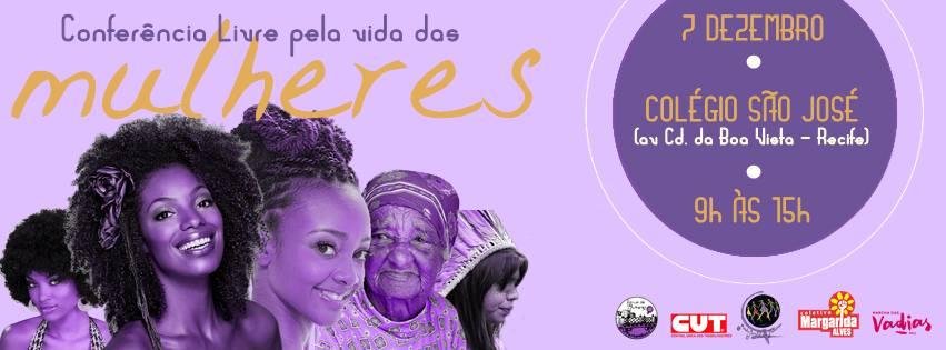 07/12/15 – Conferência Livre Pela Vida das Mulheres