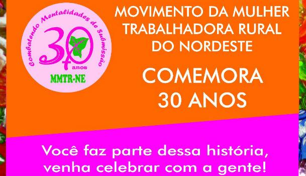 10/08/2016 – Movimento de trabalhadoras rurais comemora 30 anos