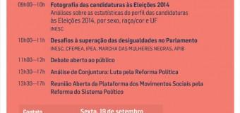 Representação de grupos sociais na política é discutida pelos movimentos sociais