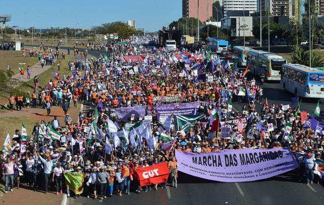 Margaridas na luta por um Brasil com Soberania Popular, Democracia, Justiça, Igualdade e Livre de Violência