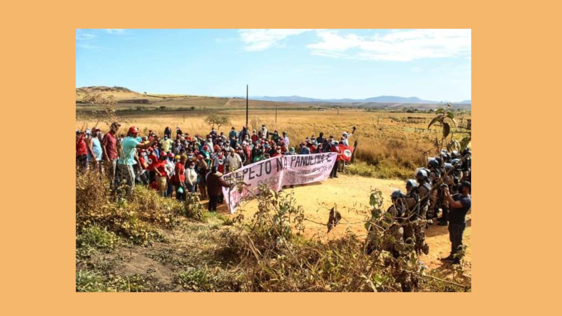 Despejo de famílias sem-terra em MG é denunciado para relator especial da ONU