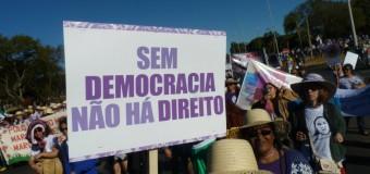 Defesa da democracia dá o tom da 5ª Marcha das Margaridas